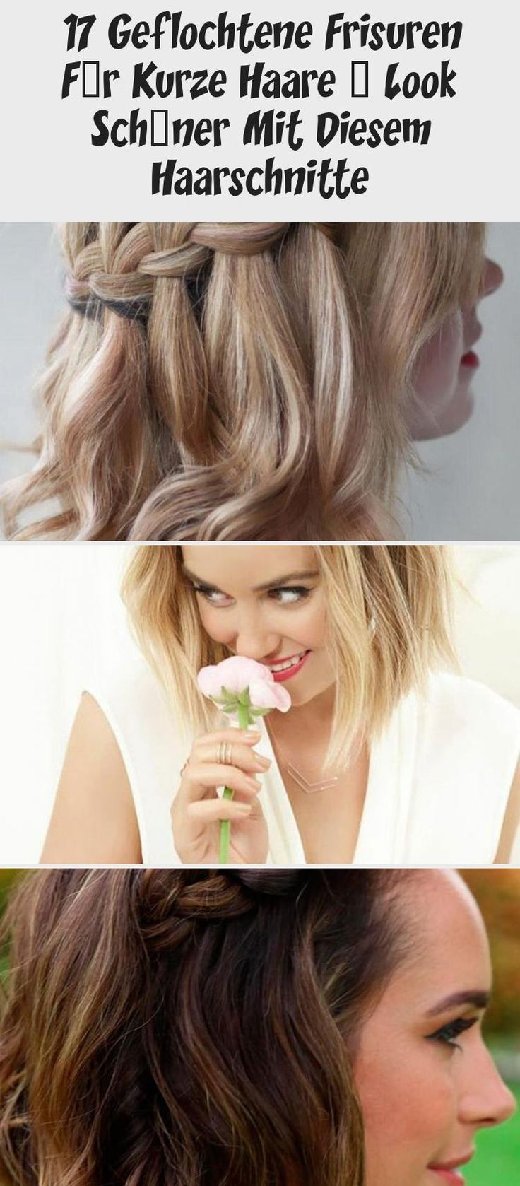 17 Braided Hairstyles For Short Hair – Look Nicer With These Haircuts
