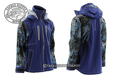 Other Fishing Clothing and Accs 27415: Huk Fishing Kryptek Next Level All Weather Jacket Rain Gear Neptune Large BUY IT NOW ONLY: $314.99