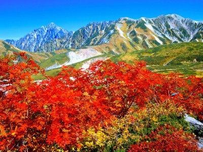 富山県の紅葉名所 立山