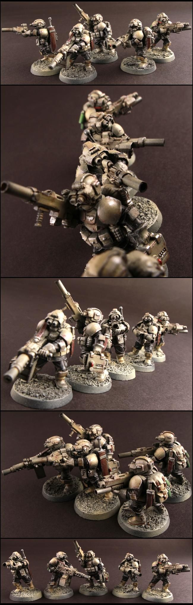 These guys would make awesome PCs for an only war campaign.