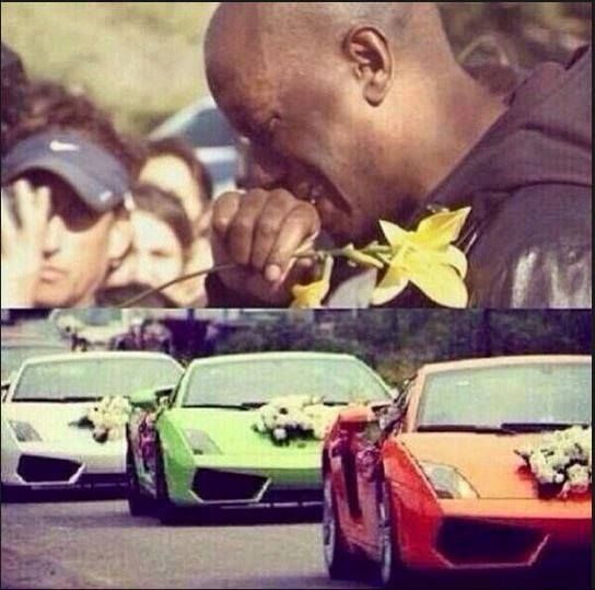 Heartbreaking Tyrese Gibson breaks down over the death of Paul Walker... I'm feeling heartbroken over it as well and I didn't even know him personally.  I can only imagine what the people who  were close to him are feeling.  They're all in my thoughts and RIP Paul Walker wherever you are now.