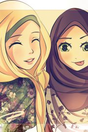 The hijab is a covering for Muslim women to protect their modesty. The hijab means the face and body is covered and clothing should be loose. Wearing tight clothing and only covering your head is not a complete hijab, its a flawed hijab. Protect your modesty with wearing the proper hijab, covering the face and body with loose clothing. Long sleeve, long skirts, and burka is perfect for a proper hijab.
