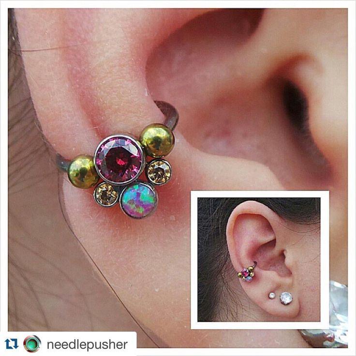 25 b sta conch piercings id erna p pinterest piercingar piercingar och h l i ronen. Black Bedroom Furniture Sets. Home Design Ideas