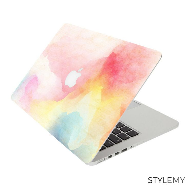 Watercolour Laptop Skin for Apple MacBook Pro and MacBook Air - vinyl sticker decal covers.
