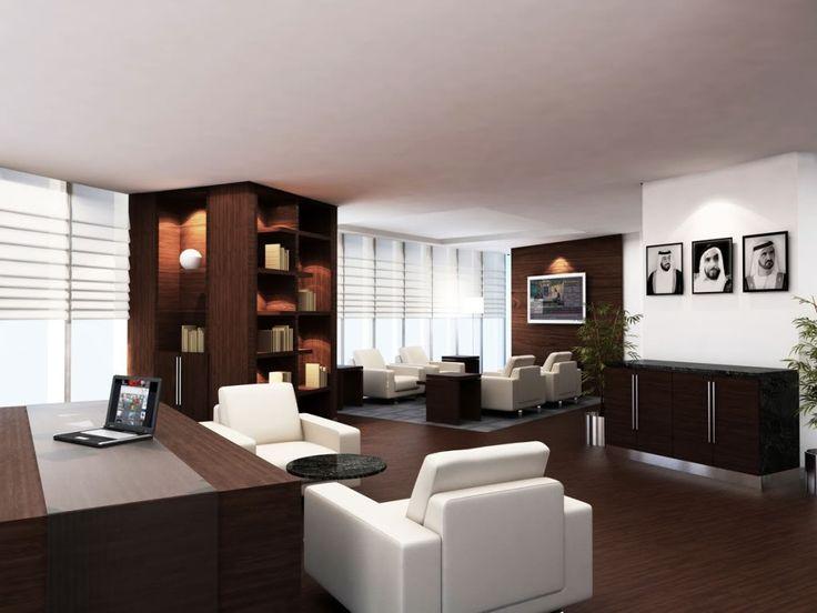 Executive Office Interior Design Exceptional Elegant Large