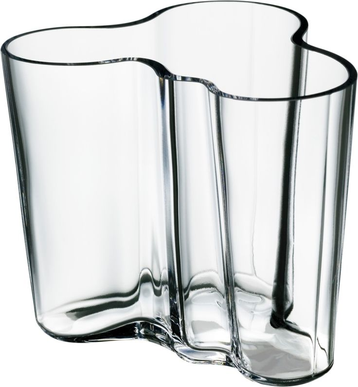 iittala alvar aalto kokoelma maljakko 95 mm kirkas finnish design vase. Black Bedroom Furniture Sets. Home Design Ideas