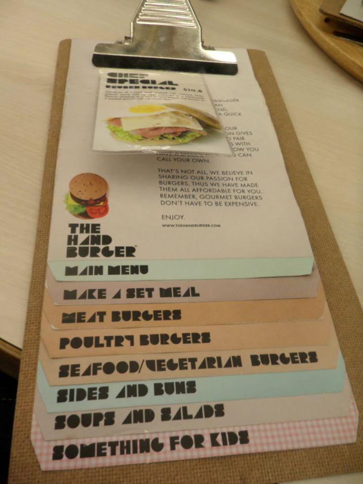 interesting menu design tiers - Menu Design Ideas