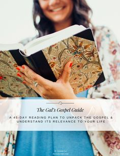 FREE Bible Study Plan for Women! | 45 Day Gospel Reading Plan | Gal's Gospel Guide | Bible Study for Beginners | How to Study the Bible | How to Read the Bible | Bible Study for Girls | thesoulscripts.com