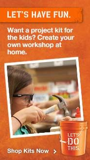 Free Weekly Workshops & Home Improvement Workshopat The Home Depot~Get the kids going on a project with a kit from Home Depot #DIHWorkshop