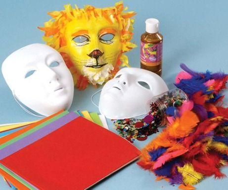 como hacer máscaras carnaval