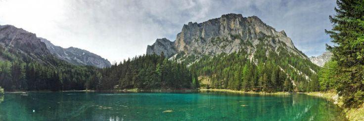 Австрия. Уникальное озеро Grüner See - Грюнер Зе. Фотографии Зеленого Озера . Видео. Как добраться, доехать.