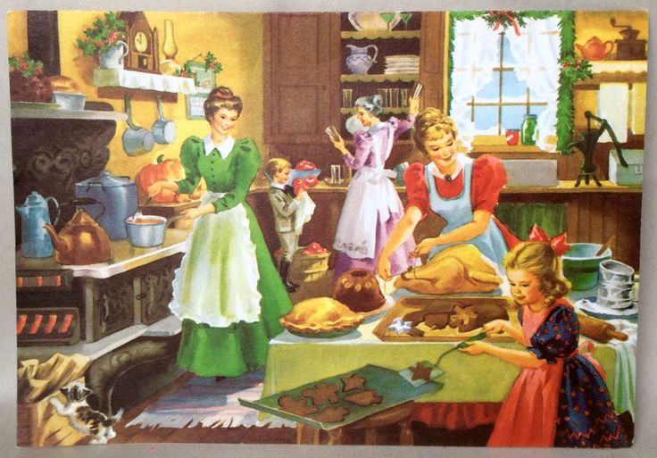 Old Fashioned Christmas Dinners