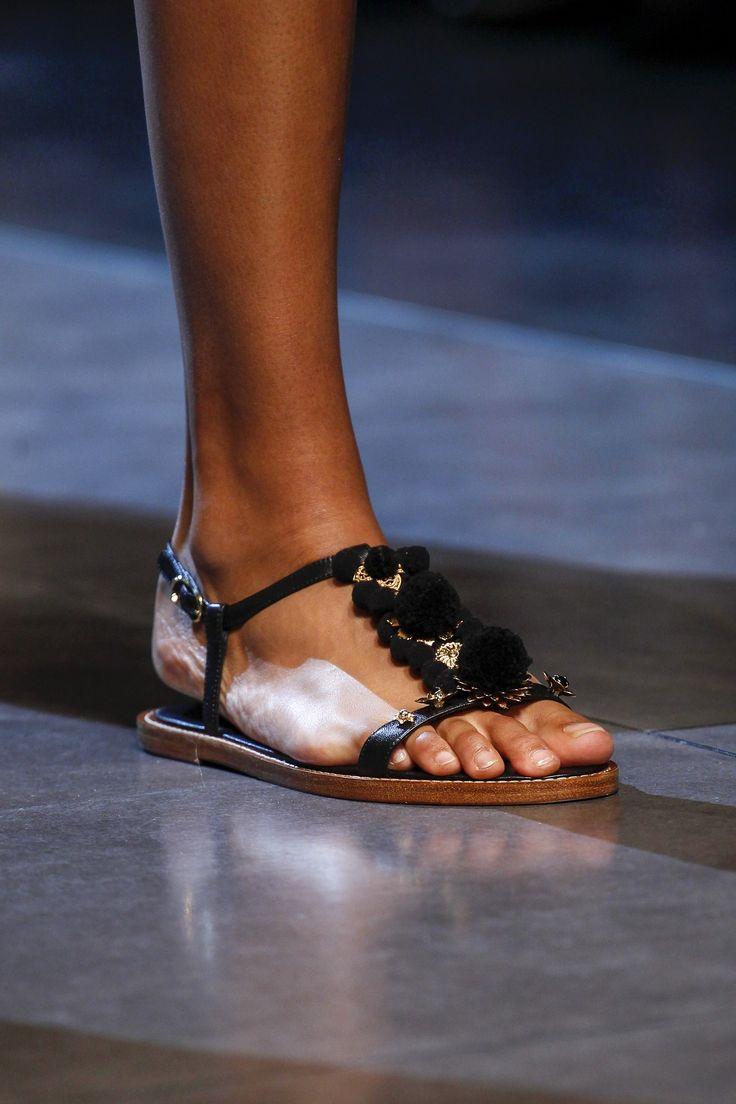 Printed Leather Sandals Spring/summerDolce & Gabbana jo2NwVxF