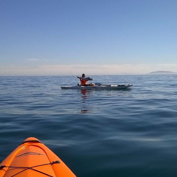 My Friend with a Snoek. Kayak - Fluid Bamba