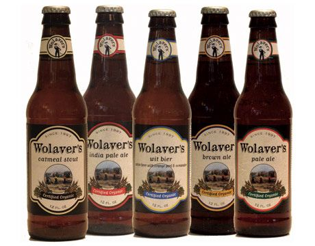 Wolaver's has been making certified organic ales since 1997. Welcome the warmer weather with a light and fruity seasonal brew; the wit bier is a Belgian-style white offered May through September.   - Esquire.com