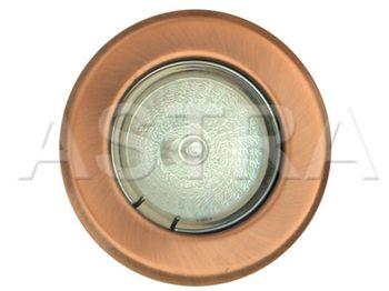 Recessed Adjustable Downlight 12V Low Voltage MR16 - Antique Copper (Item shown is Antique Copper) www.astra247.com