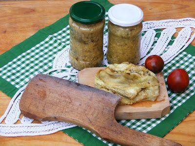 Makacska konyhája: Padlizsán befőttesüvegben