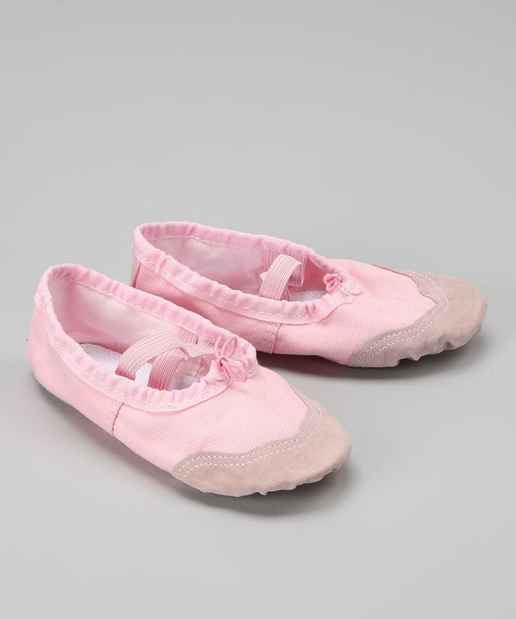 $14.99 Take a look at this Seesaws & Slides Pink Ballet Flat on zulily today!