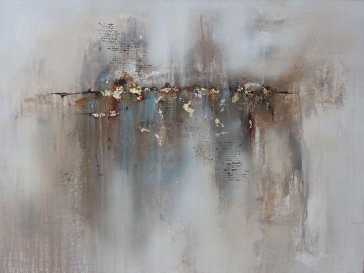 """Its written"" 120x80cm Cecilie Sundfærs Malerier Www.CilleDill.no"