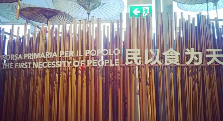 Expo Milano 2015 - China Pavilion (primary source for the people).
