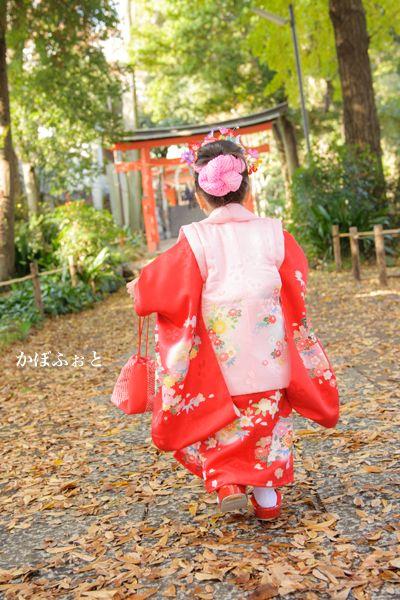 七五三の写真撮影 @目黒区自由が丘・熊野神社 : 「かぼふぉと」撮影ブログ