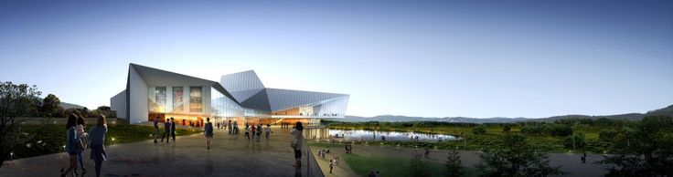 designcamp moonpark dmp Wins Competition for Asan Cultural Arts Center