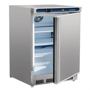 Refrigerador frigorífico bajo mostrador de acero inoxidable 150L. Polar