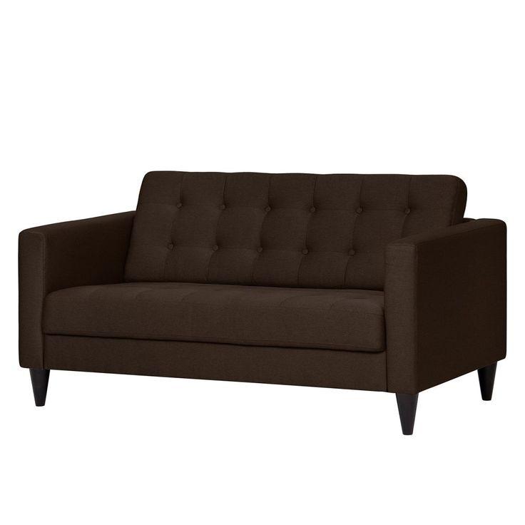 Die besten 25+ 2 sitzer sofa Ideen auf Pinterest Couch 2 sitzer - wohnzimmerwand braun