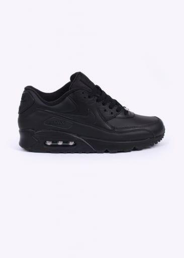 Nike Footwear Air Max 90 Trainers - Leather Black