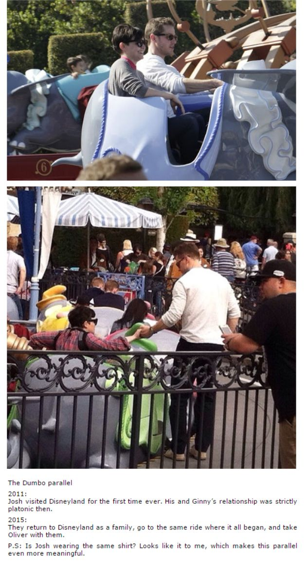 Ginnifer Goodwin and Josh Dallas at Disneyland! - Parallel of 2011 - 2015