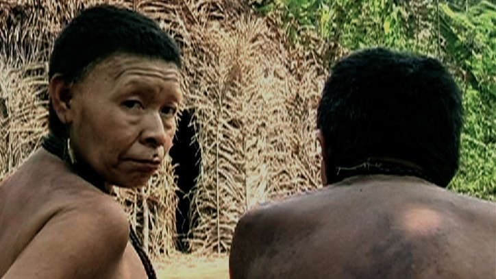 The Akuntsu are a tiny Amazonian tribe of four individuals. They are the last known survivors of their people and live in Rondônia state, Brazil. The Kanoê number just three individuals. Both live in the Omerê area in Rondônia state, Brazil.