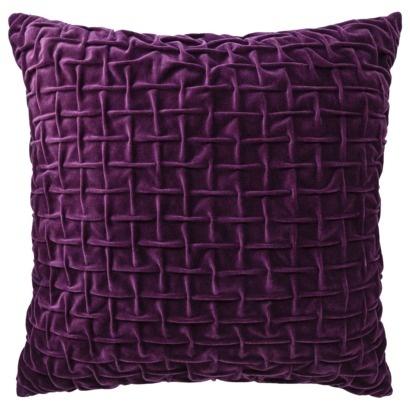 Decorative Pillow Target Purple SQUAR: Pillows Squares, Bedrooms Decoration, Pillows Target, Perfect Shades, Decoration Pillows, Decoration Idea, Purple Squares, Target Purple, Squares Purple