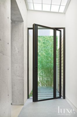 Glass Entry | Modern | LUXE Source