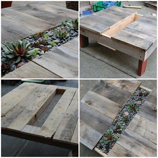 table jardinière