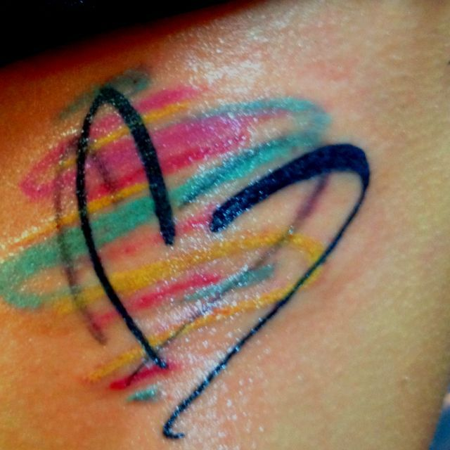 Image result for mother daughter heart tattoos | Tattoos ...