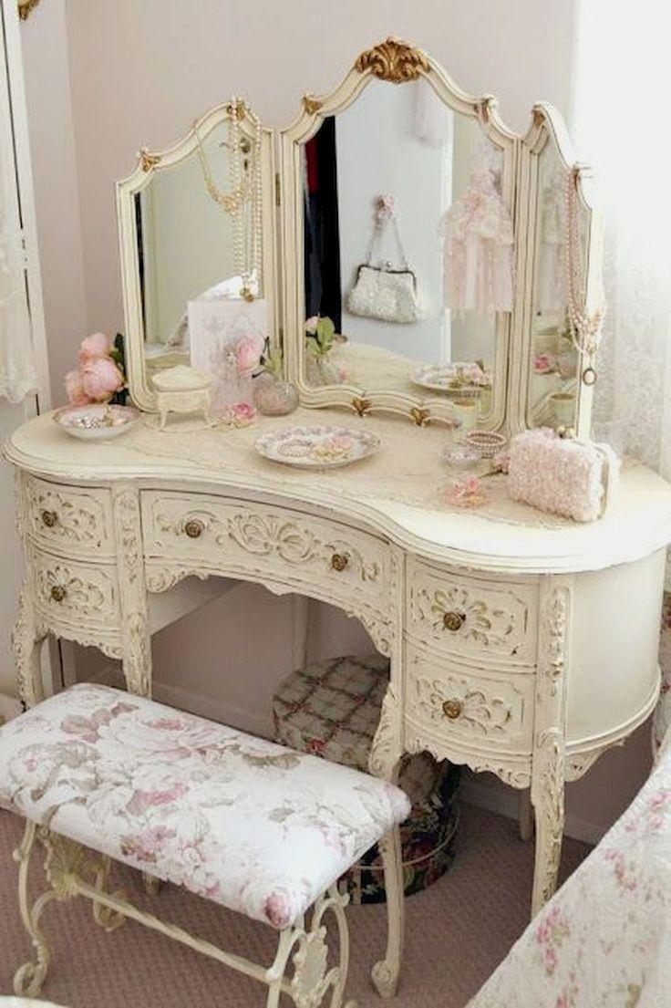 Adorable 90 Romantic Shabby Chic Bedroom Decor And Furniture Inspirations Decorapatio