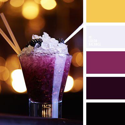 amarillo azafranado, amarillo cálido, burdeos, color arándano, color rojo vino, de color violeta, elección del color, morado, negro, selección de colores para cortinas, selección del color para el hogar, tonos morados.