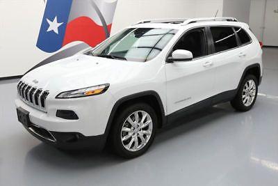eBay: 2014 Jeep Cherokee Limited Sport Utility 4-Door 2014 JEEP CHEROKEE LTD LEATHER PANO SUNROOF NAV 34K MI #227174 Texas… #jeep #jeeplife