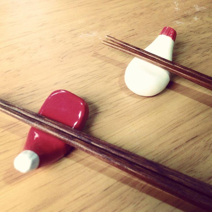 [2013/09/12] マヨ&トマケチャ♥ chopstick rest