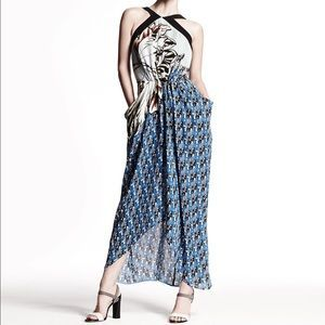 Etro Dresses & Skirts - NWT Etro Long Printed Halter Sarong Dress
