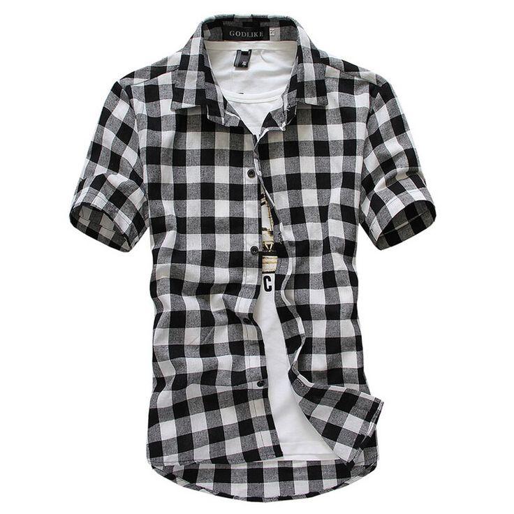 New 2016 new fashion linen short sleeved shirts men casual for Mens short sleeve linen dress shirts