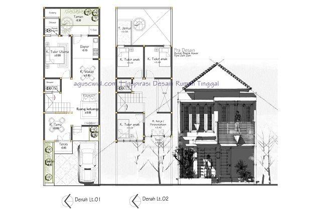 DESIGN 6 X 15 M,  Review desain ini kali akan membahas konsep rumah modern tipe ZAM ZAM yang bakal dibangun di lahan berdimensi 6×19 m2. Dengan besutan tampak rumah modern yang bernuansa trend minimalis, rumah ini coba menghadirkan kesan dinamis dan compact pada langgam tampaknya.Rumah yang didesain dengan tema urban ini diperuntukan bagi kita yang hidup di lingkungan perkotaan dengan […]