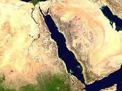 Where Is the Red Sea   Red Sea between Africa and Arabian peninsula