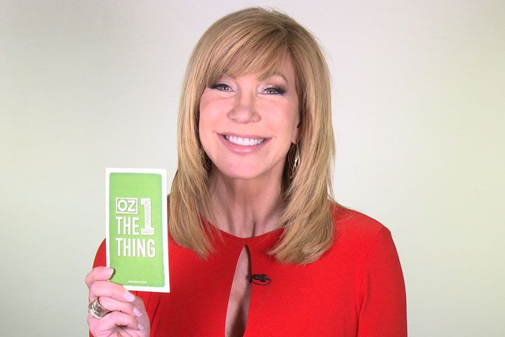 The 1 Thing With Leeza Gibbons: TV host Leeza Gibbons reveals her favorite accessory, the TV show she loves to watch, the sports team she roots for, and more!