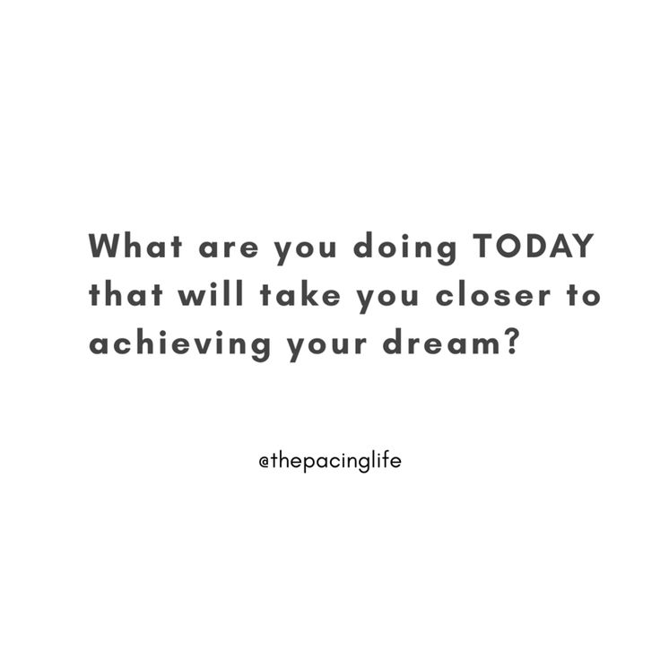 What are you doing TODAY? #goals #goalsetting