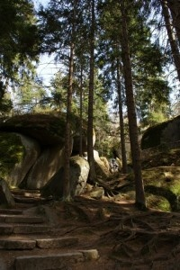 """The rock labyrinth called """"Felsenlabyrinth Luisenburg (Bayaria, Germany) - a mystic place. Huge stones piled on each other here, all things were created by the natural. Unique in the world ! http://www.freizeitfuehrer-franken.de/felsenlabyrinth-luisenburg.html"""
