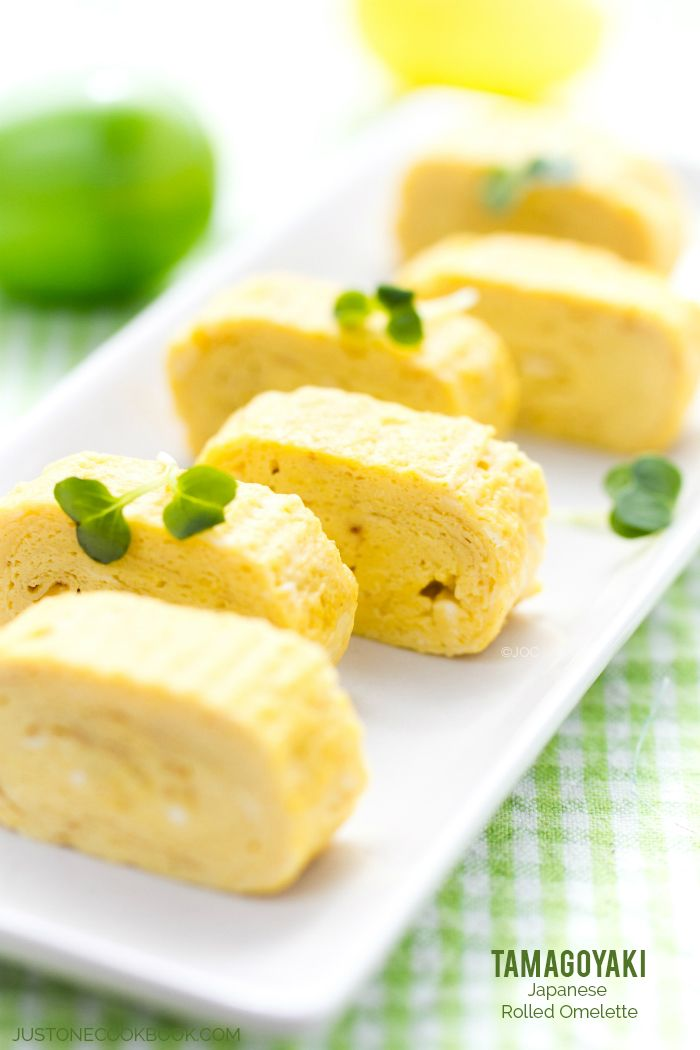 Japanese Rolled Omelette (Tamagoyaki 玉子焼き)   Easy Japanese Recipes at JustOneCookbook.com
