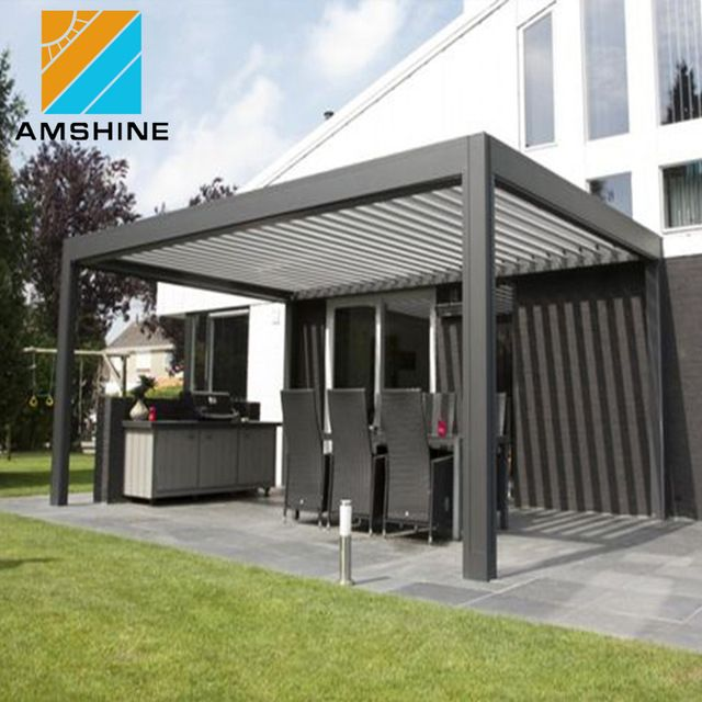 Source Sun Shade And Waterproof Pergola Awning System On M Alibaba Com Pergola Rustic Pergola Garden Awning