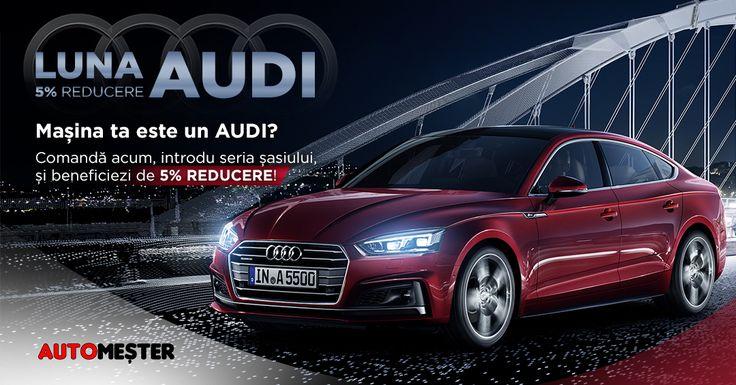 Citeste aici poveste brand-ului Audi si bucura-te de reducere toata luna! Cumpara acum si in 12 rate fara dobanda! #anvelope #reduceri #pieseauto