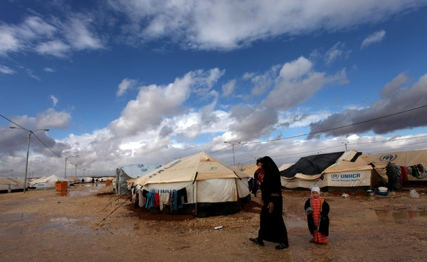 Syrian Refugee numbers reach one million mark.